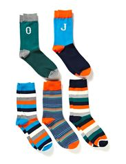 ANVIL SOCKS 5-PACK ORG 7-8-9 2014 - Grey Melange