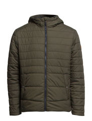 BOOM PUFFER JACKET - Forest Night