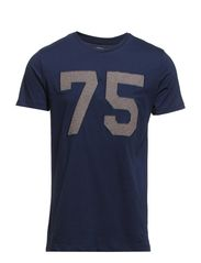 JJTENDER TEE CREW NECK - Dress Blues