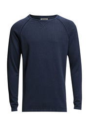 JJORBEACH KNIT CREWNECK NOOS - Dress Blues