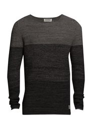 JJORCHASE KNIT CREWNECK - Moon Mist