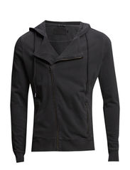 JJORBIKE SWEAT ZIP  HOOD - Black