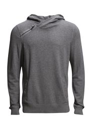 JJORKASJA SWEAT HOOD - Light Grey Melange
