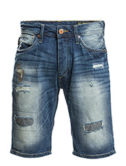JJORRICK ORIGINAL SH. GE 123 NOOS - Blue Denim