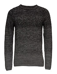JORFUEL KNIT CREW NECK CAMP - TAP SHOE