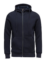 JORSTAN SWEAT ZIP HOOD - TOTAL ECLIPSE