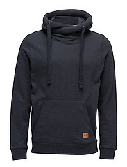 JORHERITAGE SWEAT CROSS OVER HOOD - TOTAL ECLIPSE