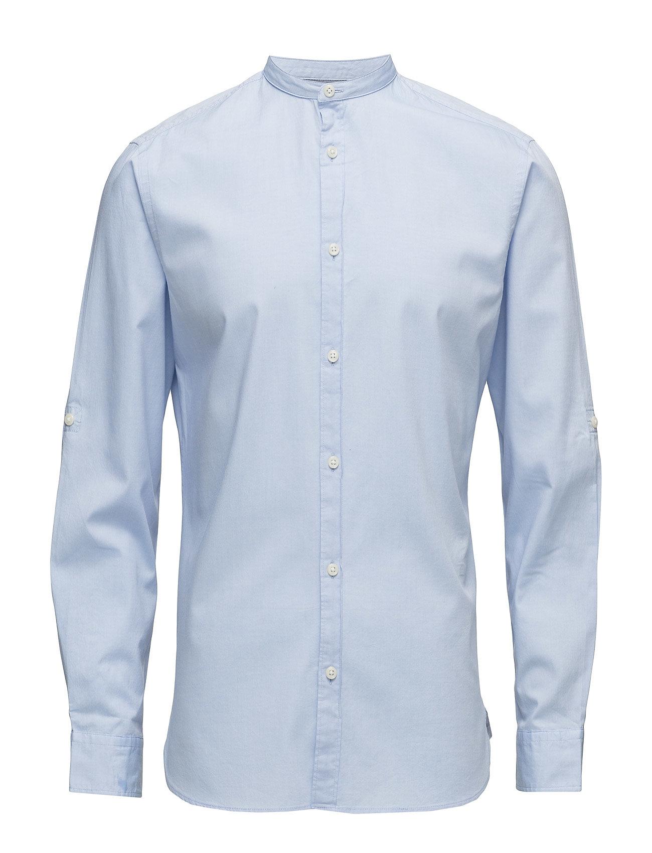 jack & jones premium – Jprsao paulo shirt l/s plain på boozt.com dk