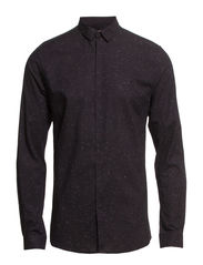 ARLINGTON SHIRT PLAIN L/S - Black