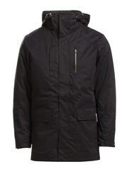 KIM PARKA JACKET TTT - Black