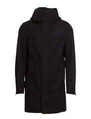 DALE WOOL JACKET - Black