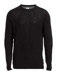 ADAM KNIT CREW NECK PR 7-8-9 2014 - Black