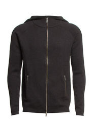 TOBY HOOD KNIT PR 7-8-9 2014 - Dark Grey Melange