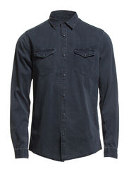 ALABAMA SHIRT L/S NOOS - Black Denim