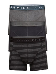 DANTI TRUNKS 3-PACK PRM 7-8-9 2014 - Grey Melange