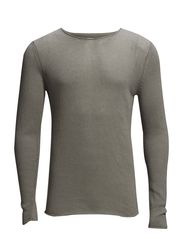 JJPRTOM KNIT CREW NECK - Frost Gray