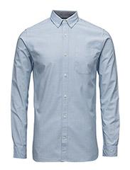jjprDAVID SHIRT L/S NOOS - Cashmere Blue