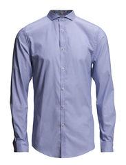 JJPRHOME SHIRT L/S PLAIN - Cashmere Blue
