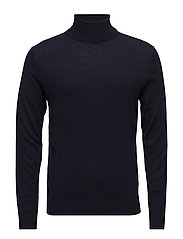JPRMARK KNIT ROLL NECK - MARITIME BLUE