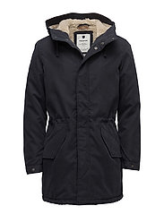 JPRALEX PARKA JACKET - DARK NAVY