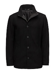 JPRMOOLIN WOOL JACKET - BLACK