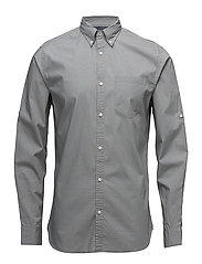 JPRBOSCO SHIRT L/S BUTTON DOWN - MONUMENT