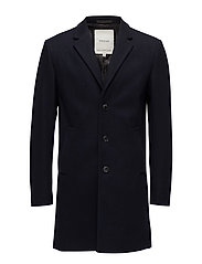 JPRMARTIN WOOL JACKET - DARK NAVY