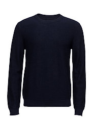JPRCAMP KNIT CREW NECK - MARITIME BLUE