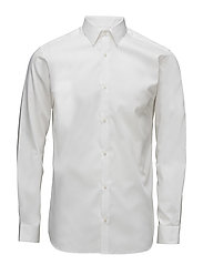 JPRNON IRON SHIRT L/S NOOS - WHITE