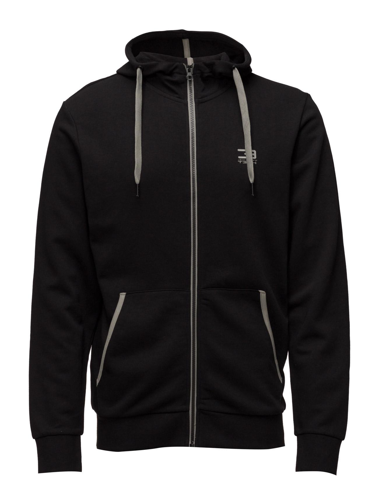 Jjtslider Sweat Zip Hood* Noos Jack & Jones Tech Sports sweatshirts til Herrer i Sort