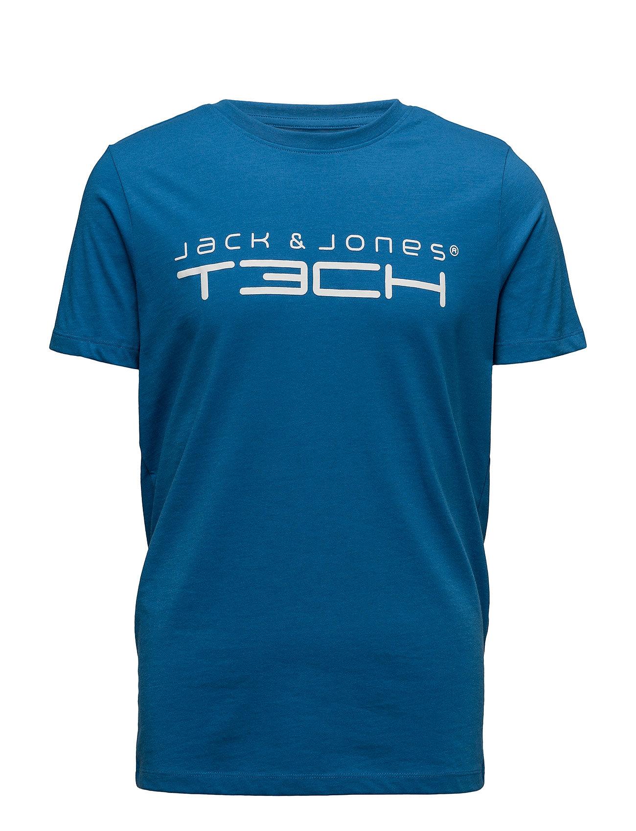Jjtcfoamnew Tee Ss Crew Neck Noos Jack & Jones Tech  til Herrer i Light Grey Melange