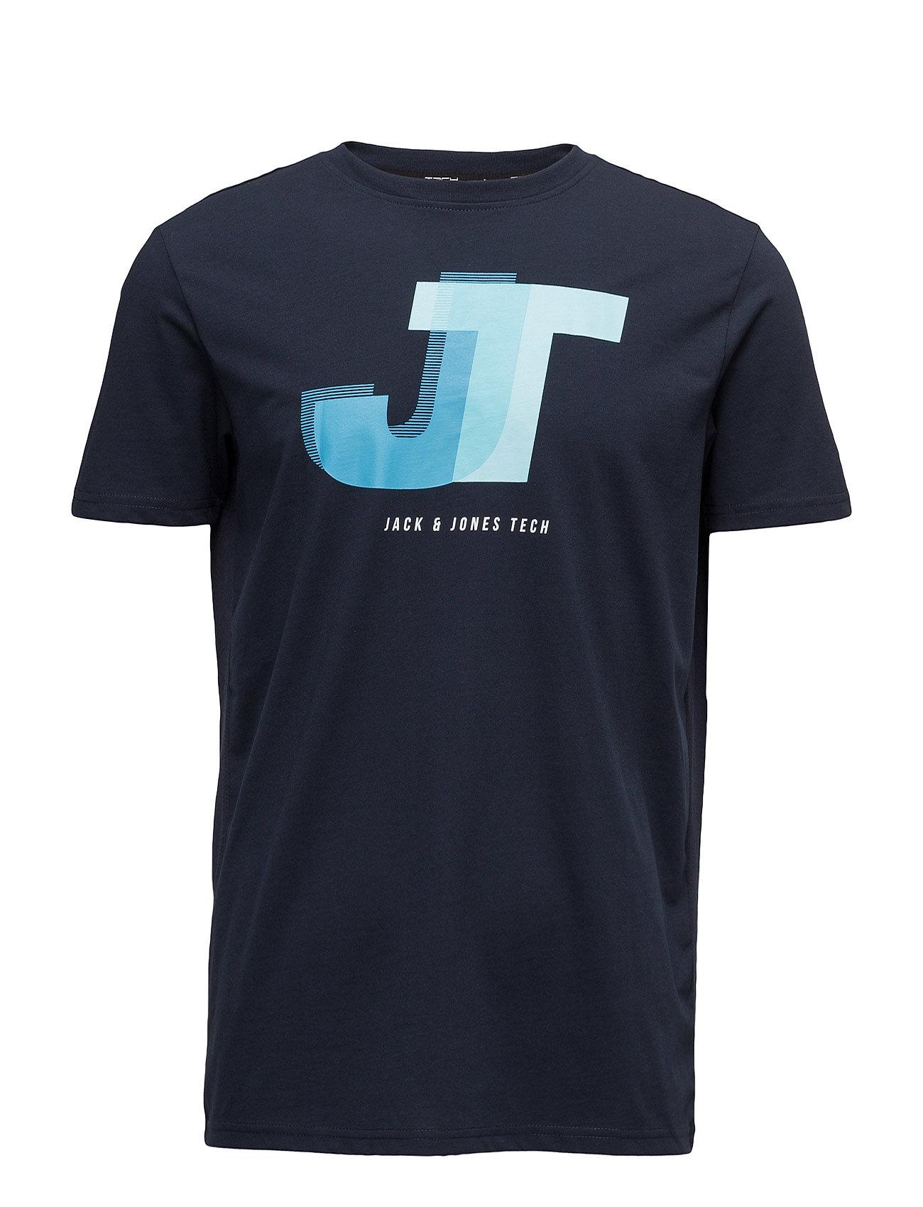 jack & jones tech – Jjtexact tee ss crew neck fra boozt.com dk