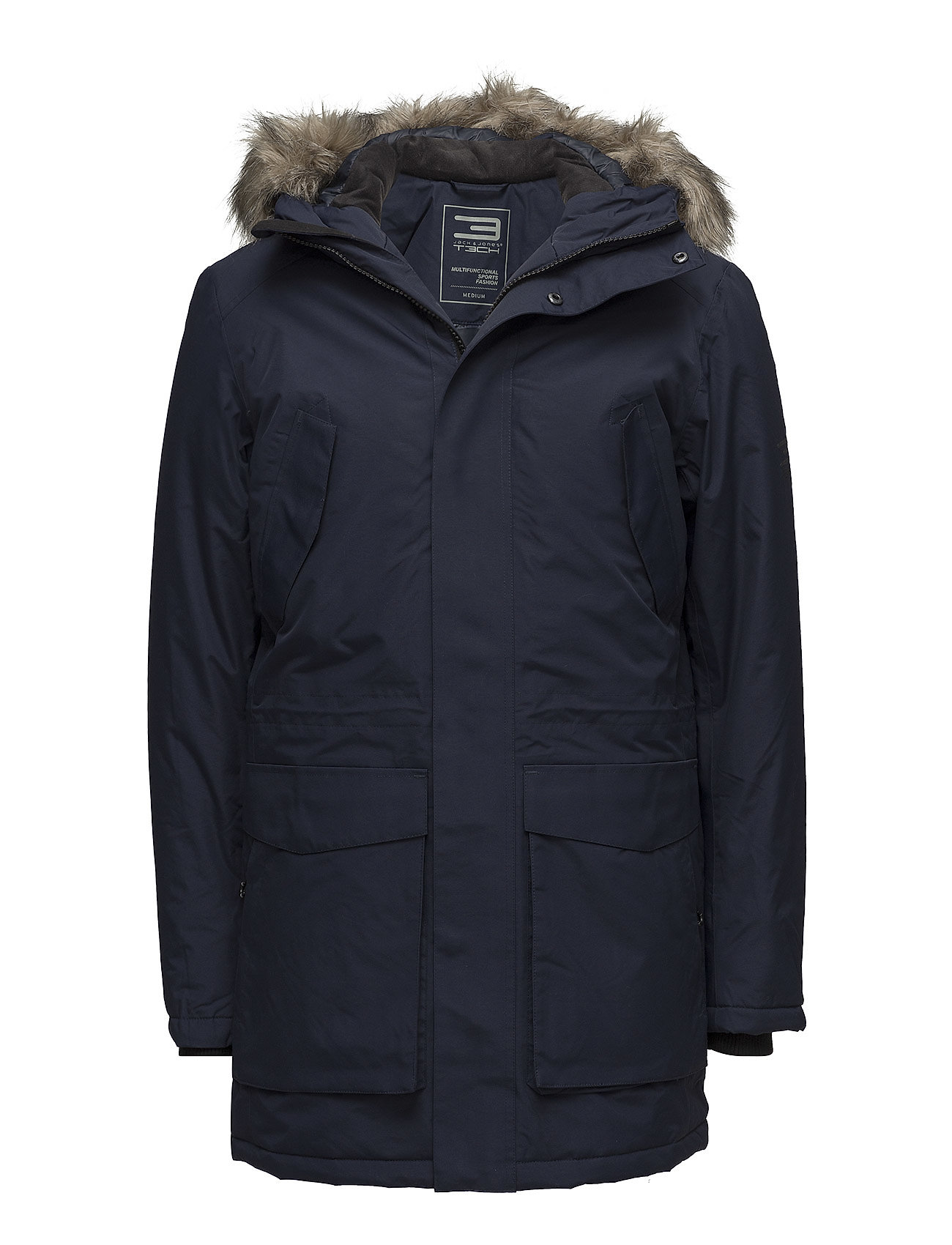 jack & jones tech Jjtmeyland parka jacket 17 noos fra boozt.com dk
