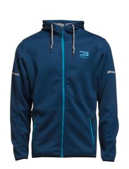TAYGE SWEAT ZIP HOOD - Blue Wing Teal
