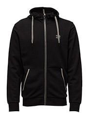 jjtcSLIDER SWEAT ZIP HOOD* NOOS - Black
