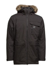 JJLIME PARKA JACKET - Dark Grey Melange