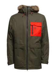 JJORANGE PARKA JACKET - Forest Night