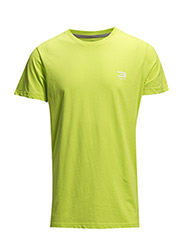 JJTCCOLOR TEE SS CREW NECK - Lime Punch