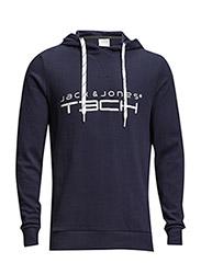 jjtcCHUCK SWEAT HOOD - Navy Blazer