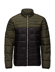 JJTFORCE QUILTED JACKET - FOREST NIGHT