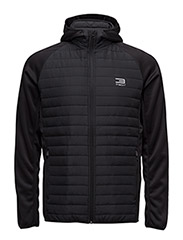 JJTMULTI QUILTED JACKET - BLACK