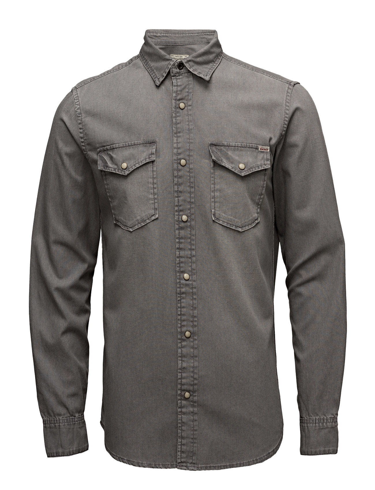 Jjvsheridan Shirt L/S Western Noos Jack & Jones Vintage Casual sko til Herrer i