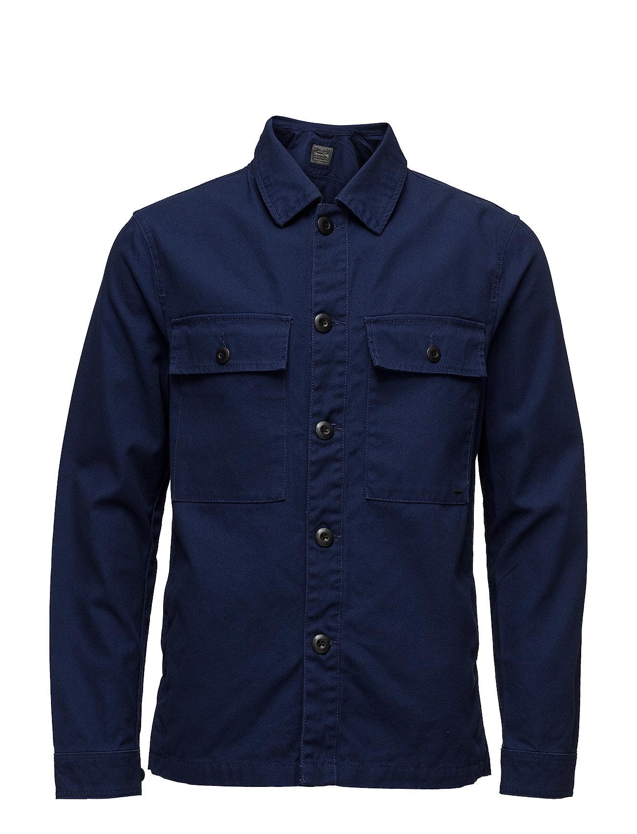 e8afd239515d Find Jjvhenry Overshirt Jack   Jones Vintage Trøjer i Estate Blå til Mænd  på en webshop