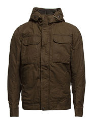LUTON WAXED JACKET - Forest Night