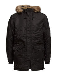 UNION PARKA JACKET - Black