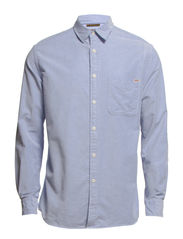 TOWERS ONE SHIRT L/S - Stonewash