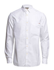 TOWERS ONE SHIRT L/S - Whisper White