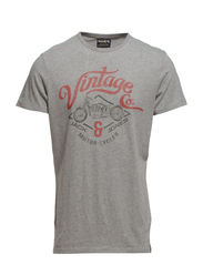 RE RUNNER TEE EXP 14 - Light Grey Melange