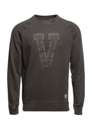 HUNTLAND CREW NECK SWEAT JJVC - Black