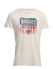 ALL AMERICAN TEE SS CREW NECK JJVC TTT - White